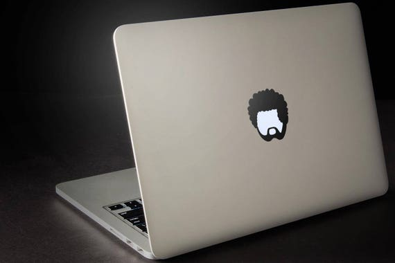 Afroman Decal Sticker, Africa African Black Man Hairstyle Cool Hipster, mac, Macbook Decal Sticker