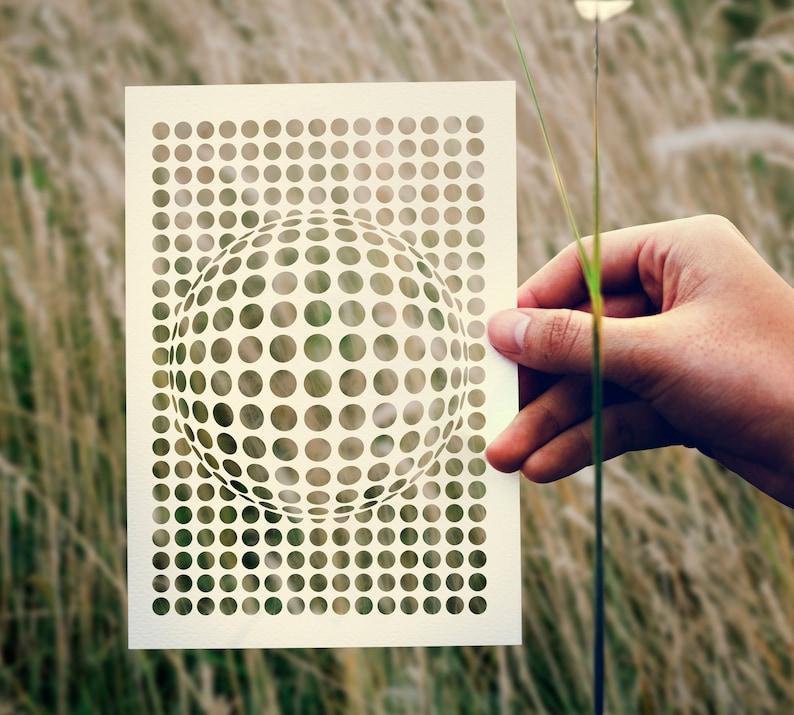 SVG  Geometric Forms No2 // Digital Stencil // Universally image 0