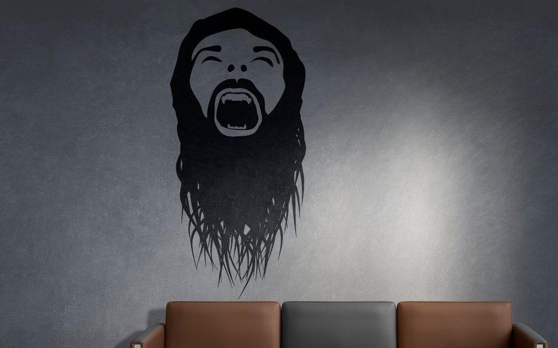 SVG  The Scream No 1 // Universally Compatible Cut Files // image 0