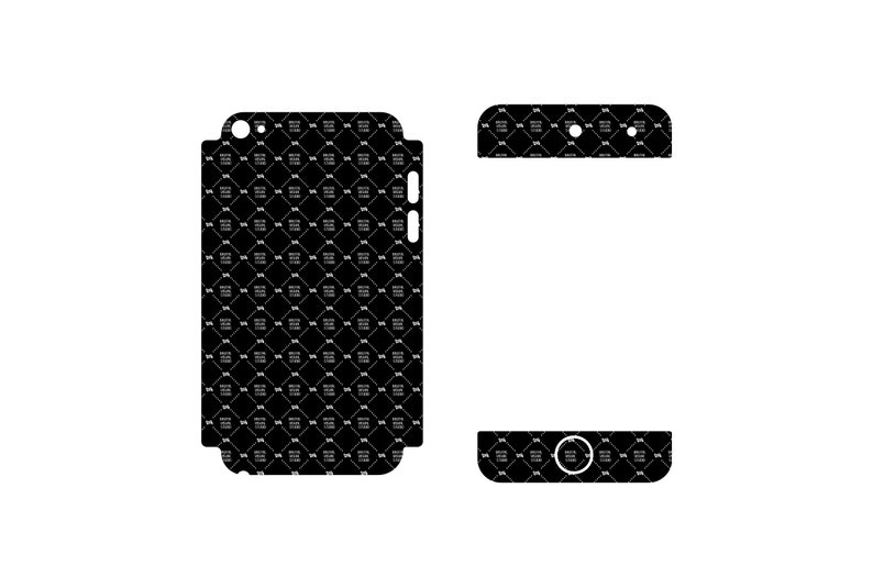 SVG  iPod Touch 4 v2 Skin template //  Vinyl Cutters image 0
