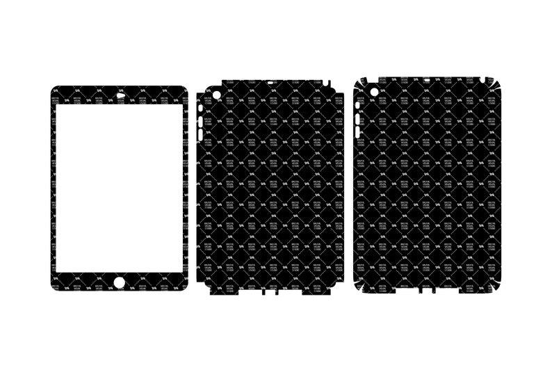 SVG  Apple iPad Mini Gen 1 // Skin Cut Template //  Plotter image 0