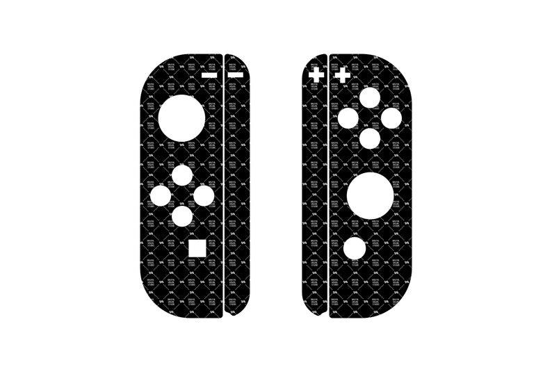 SVG  Nintendo Switch Joy-Con skin cut template // Plotters image 0