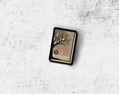 To Kill a Mockingbird Book Cover Pin Harper Lee Book collection Book cover Brooch Handmade