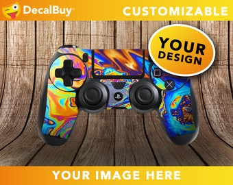 Custom PS4 Controller Skin - Personalized Decal - Customizable Skin