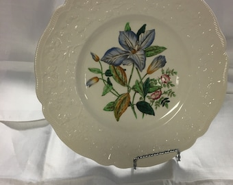 Johnson Brothers - England Rare Floral Design Clematis