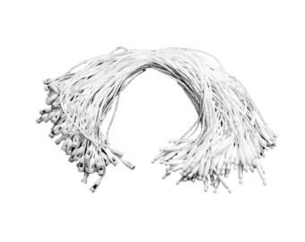 4 mm Nylon String fuerte Colgar Etiquetas Pines de gancho de cierre Cerradura de bucle 100-1000 un