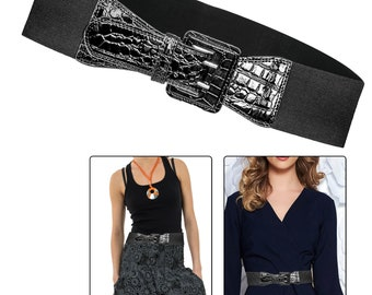 10mm Shiny Silver Kids Waist Belt Girls Fashion Formal Casual Daily Party Dress