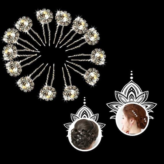 FLOWER ROW DESIGN DIAMANTE CRYSTAL SLIDE HAIR COMB GRIP WEDDING BRIDESMAID PROM