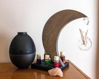 Essential Oil Storage, Moon Decor and Art, Essential Oil Bottle Organizer/Display/Holder/Gift