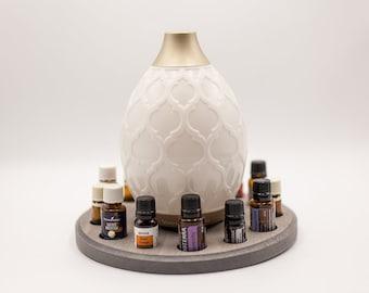 Essential Oil Holder, Handmade Round Essential Oil Shelf, Essential Oil Organizer/Display/Holder/Gift