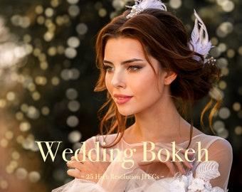 Wedding Bokeh Overlays