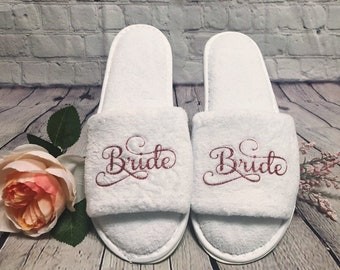 6c53315a4a4 Wedding slippers