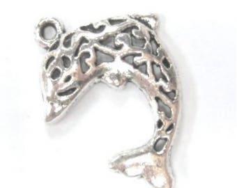 10 pieces 4x14mm Tibetan Silver Santa clausalloy Charms-A2345