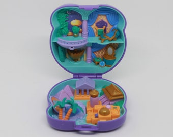 Vintage Polly Pocket Merry Go Round Pals Complete 1993 Latest Technology Dolls & Bears