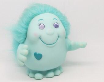 Vintage Playskool Playschool Papa Gently Snugglebumms Blue Big Light Up Hug My I Glow 1984 1980s 80s 84