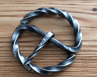 Re enactment standard hand forged steel buckles