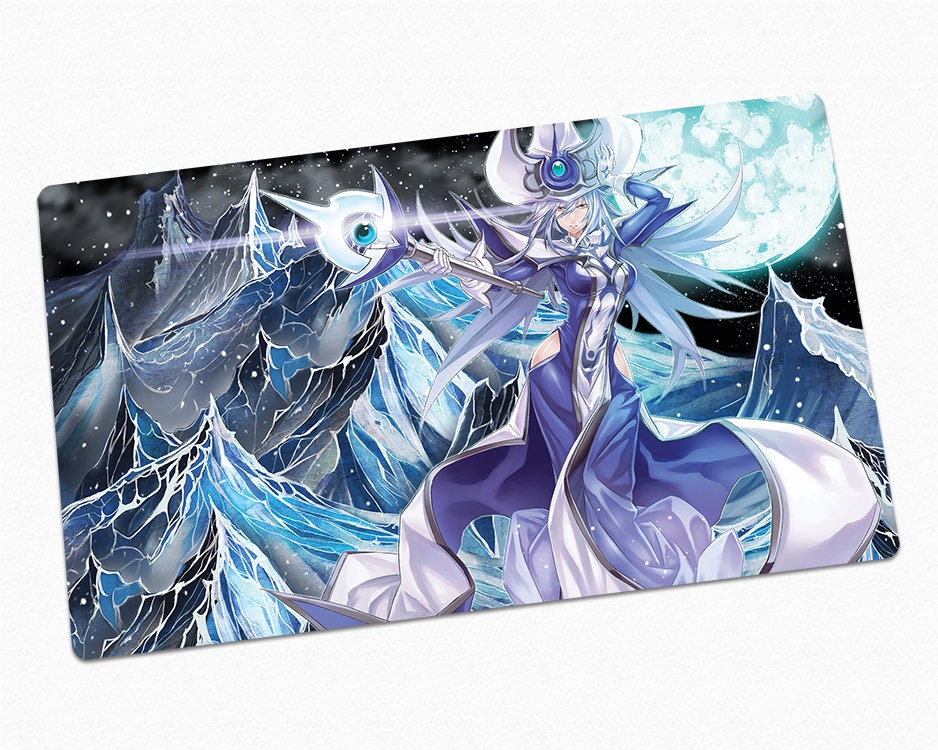Silent Magician Custom YuGiOh Playmat, Card Game Mat with Gaming Tabletop  Surface for Dueling, Gift for Yu-Gi-Oh Fan, TCG Rubber Play Mat