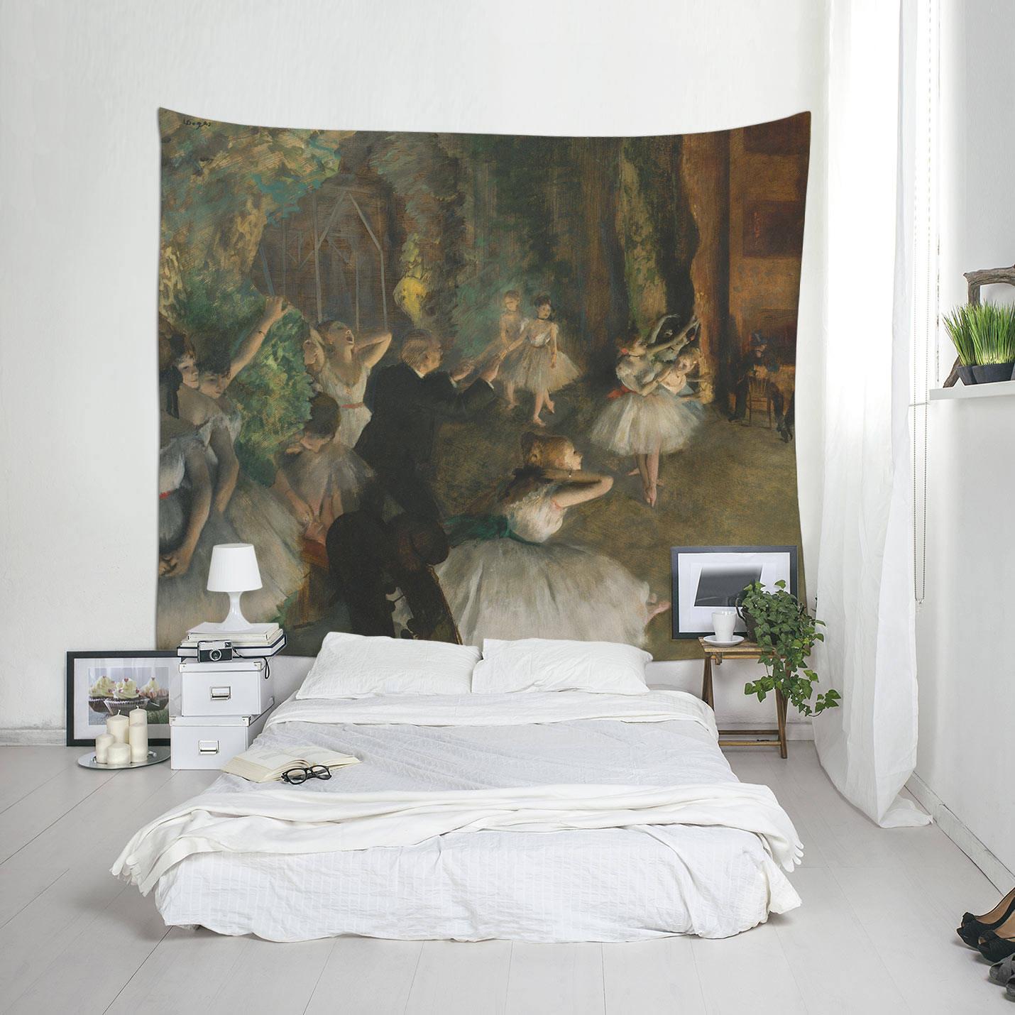 Degas Edgar Degas-Druck große Wand-Dekor Wandteppich Deko   Etsy