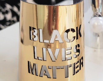 Black (L) Matters Bracelet