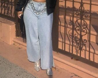 Rita Wide-legged Jeans
