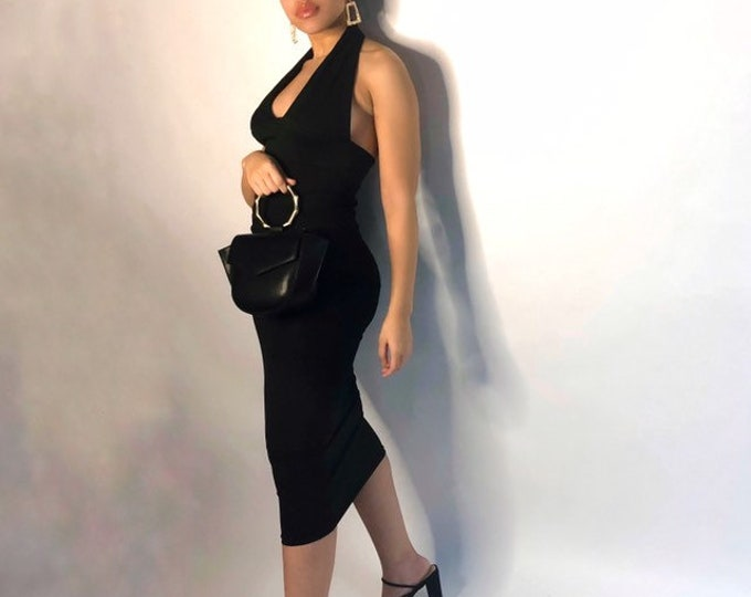 Farrah Halter Dress