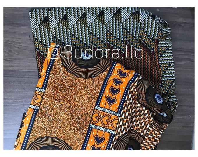 Featured listing image: Ankara Mini Skirts
