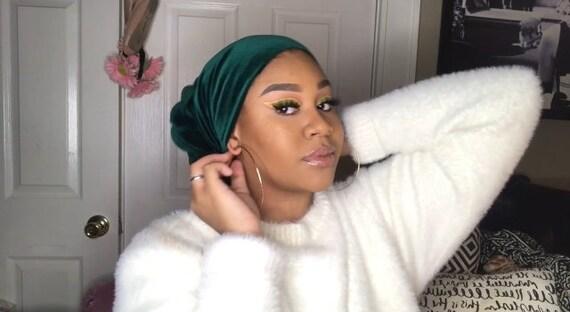 velvet headwrap