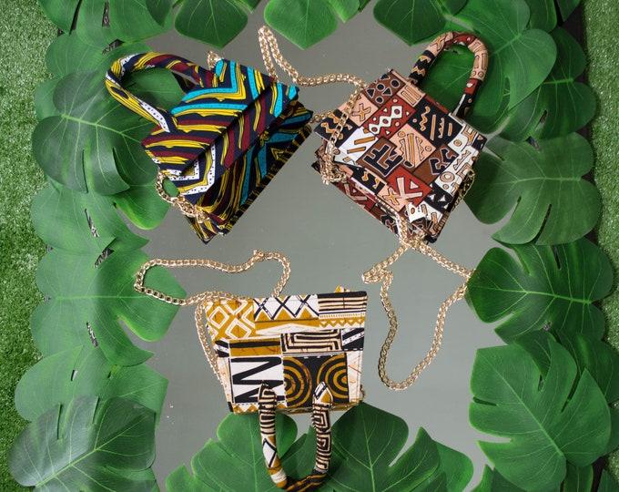 Ankara mini purse