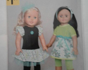McCALL'S  Pattern A1496 Fits American Girl & other 18 inch dolls