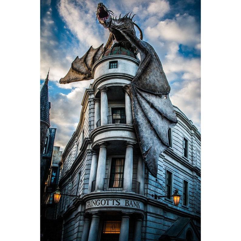 Harry Potter Gringotts Dragon [Photo Print]