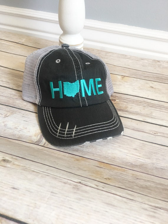 timeless design 9d2e0 f5fed ... low price ohio home hat ohio state hat home trucker hat grey home etsy  cf54b 1738e