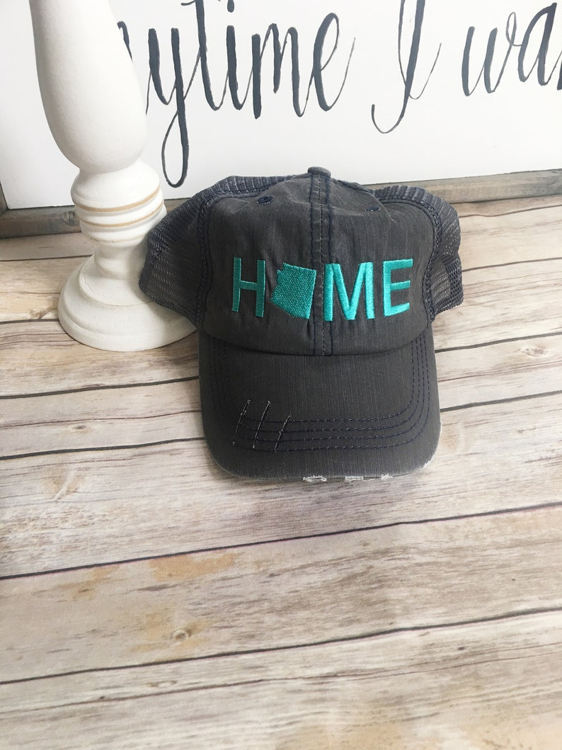 d9b7535cf6c Arizona Home hat arizona state hat denim hat home trucker