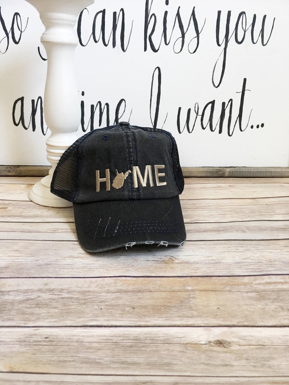 Pleasing West Virginia Trucker Hat West Virginia Home Hat Wv T Home Trucker Hat Va Hat West Virginia State Hat Baseball Cap Wv State Hat Interior Design Ideas Philsoteloinfo