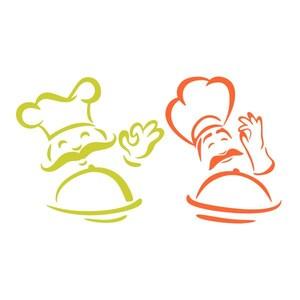 New Cute Handmade Polymer Clay Writing Fimo Pen Cartoon Chef Cook Boy
