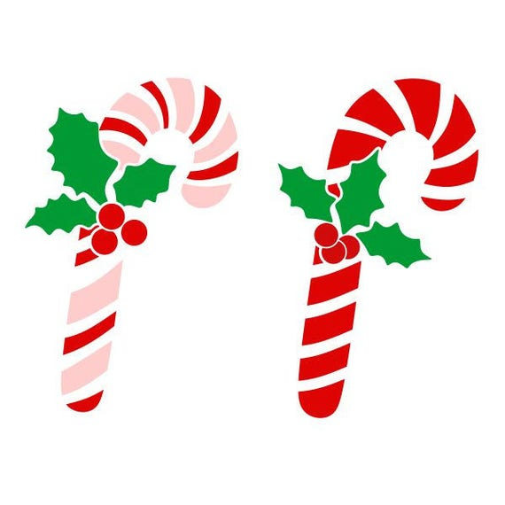 candy cane christmas cuttable design svg png dxf eps designs etsy
