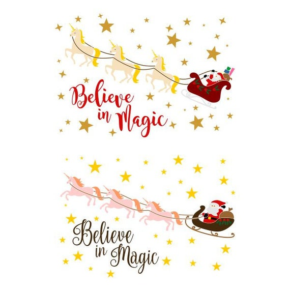 Christmas Believe Santa Cuttable Design Svg Png Dxf Eps Etsy