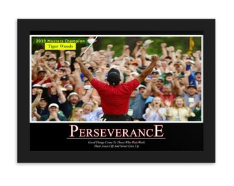 Tiger Woods Etsy