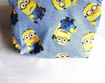 Cosmetic case with the cute fabric