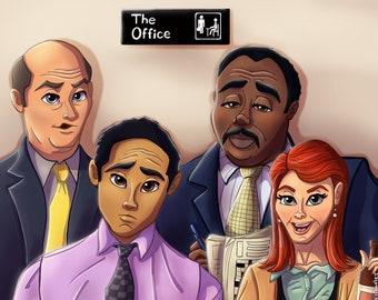 The Office Art, TV Show Art, Pretzel Day, The Office TV Show Gifts, Dunder Mifflin, Scranton, Meredith Palmer, The Office US Fanart