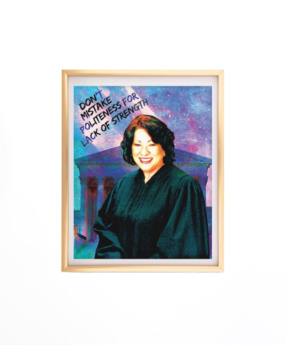 OFFICIAL PORTRAIT OF JUSTICE ELENA KAGAN 8X10 PHOTO SUPREME COURT