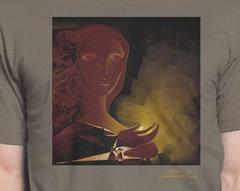 "Men's T-Shirt ""Cave"" Artwork by Todd Powelson, Arteesty"