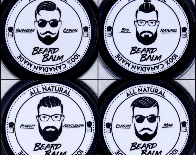 Featured listing image: Beard Balm Variety Pack
