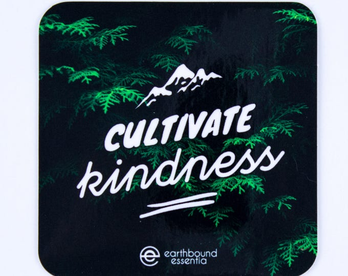Featured listing image: Cultivate Kindness Sticker