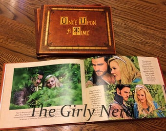 Once Upon a Time Captain Swan Storybook