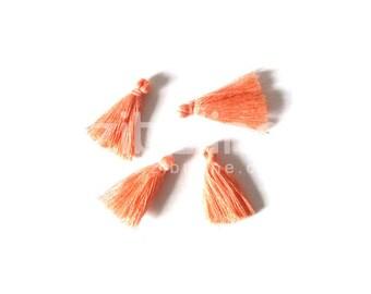 Tassel son charm - coral