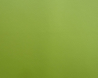 Thick leather - color Olive Leaf