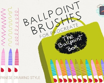 The Procraate Ballpoint Box : Japanese Drawing Style