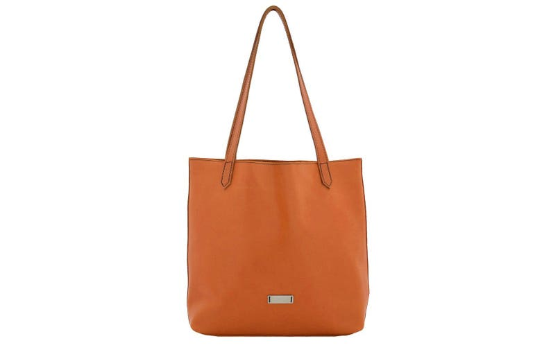 90f81e24 Shopping Bag leather brown cognac handmade shoulderbag ninok | Etsy