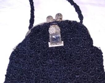 Handmade Art Deco style handbag.