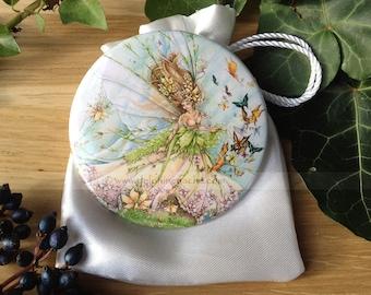 Mirror Magic - Spring fairy - Delphine striker Illustration